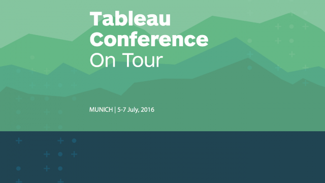 Tableau Conference on Tour